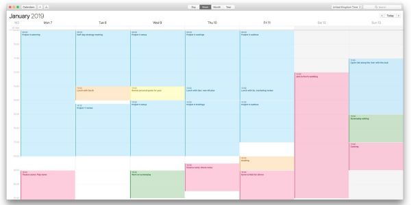 How to use color-coded calendars on Mac, iPhone and iPad to maintain balance in your life