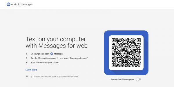 Android Messages for web begins rolling out, starting with web client