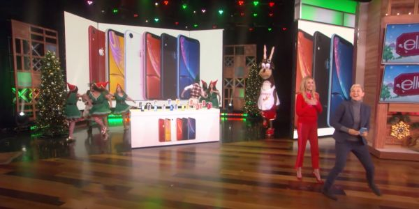 Apple gives away iPhone XR to the whole audience on The Ellen Show