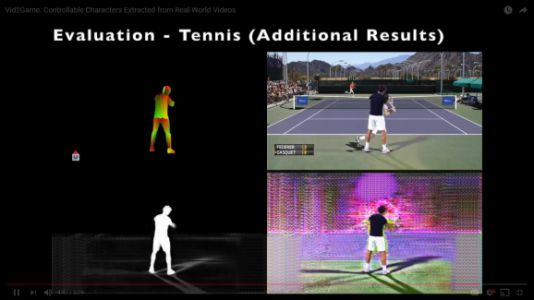 Facebook's AI extracts playable characters from real-world videos