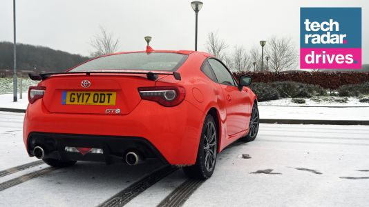 Toyota GT86: snow joke in the driving department but we'd love more infotainment