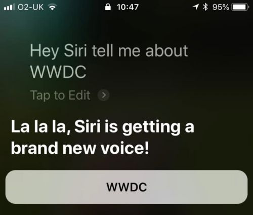 Apple's Siri Could Be Getting Some Upgrades At WWDC