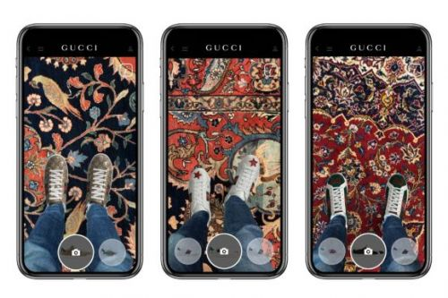 Gucci's iOS app lets you try shoes on remotely in AR