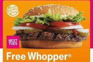 T-Mobile has another whopper of a freebie in the pipeline and a sweepstake to match