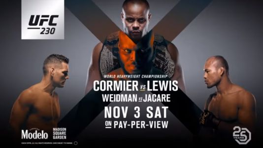 UFC 230 live stream: how to watch Cormier vs Lewis fight online from anywhere