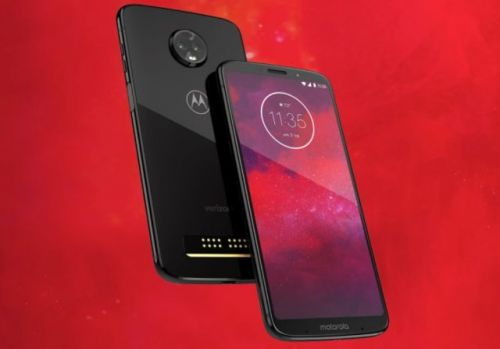Motorola Moto Z3 Android smartphone is a Verizon exclusive with optional 5G upgrade