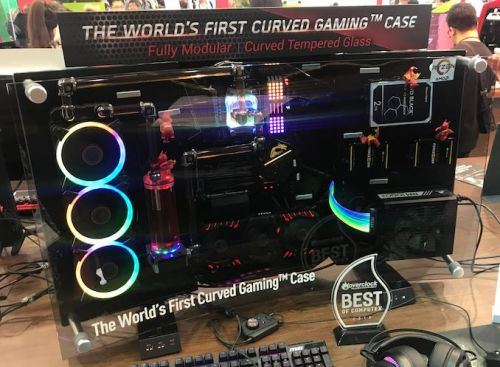 MSI Demonstrates MEG Alchemy 700X: A Curved Gaming PC Case