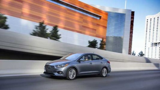 2020 Hyundai Accent Rated at 41 mpg highway