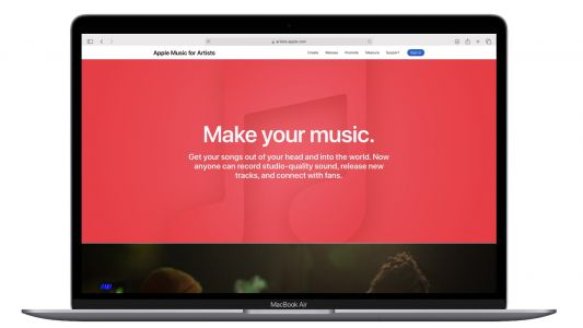 Apple Redesigns Apple Music Website for Artists