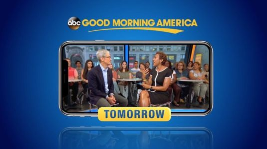 Apple CEO Tim Cook Will be on Good Morning America Tomorrow