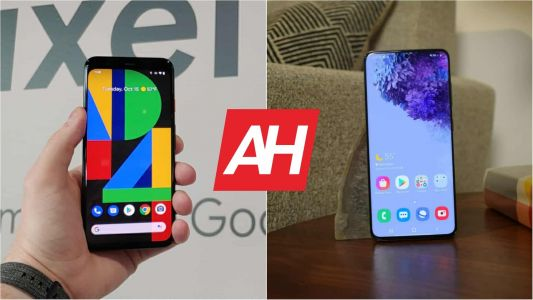 Phone Comparisons: Google Pixel 4 vs Galaxy S20