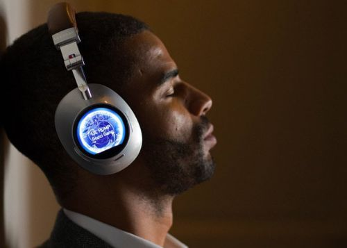 Debussy touchscreen 4G smart headphones for audiophiles