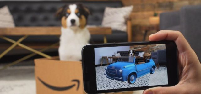 Amazon's New Augmented Reality App Highlights Dog Reality Stars from Prime Video Series 'The Pack'