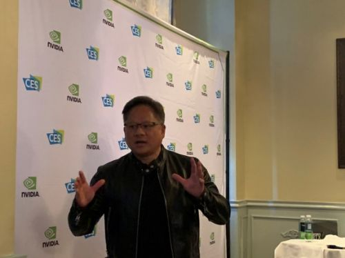 Nvidia CEO Jensen Huang unplugged - The blockchain bubble and car autopilots