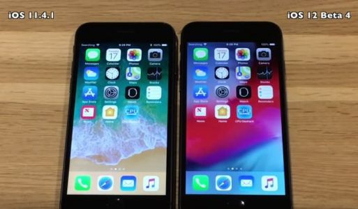 Apple's iOS 12 Beta 4 vs iOS 11.4.1