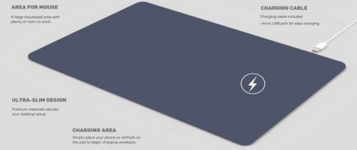 Kanex - Premium Mouse Pad with Wireless Charging Review