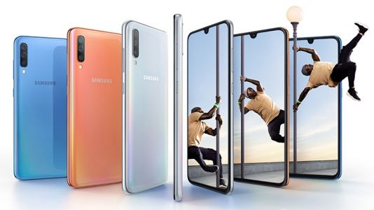 Samsung Galaxy A70 announced with triple-lens camera and in-screen scanner