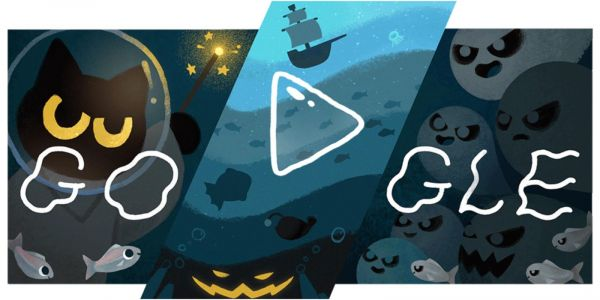 This year's Halloween Google Doodle game is a 'Magic Cat Academy' sequel