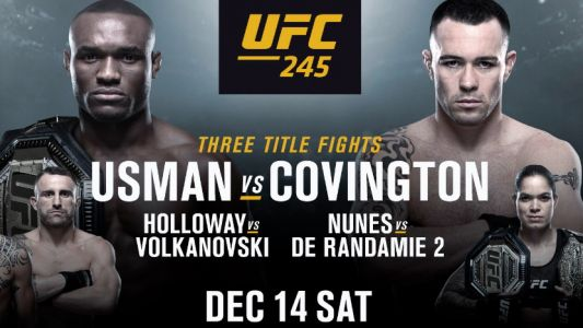 UFC 245 live stream: how to watch Usman vs Covington from anywhere tonight