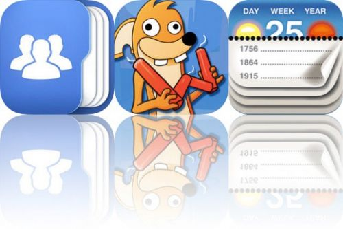 Today's Apps Gone Free: Top Contacts, Wacko Words and Calendarium