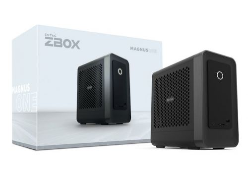CES 2021: Zotac MAGNUS ONE Gaming mini-PC Flagship Charges Up Coffee Lake with Ampere