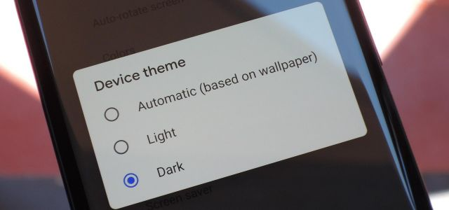 How to Enable Android P's Dark Theme on Your Google Pixel