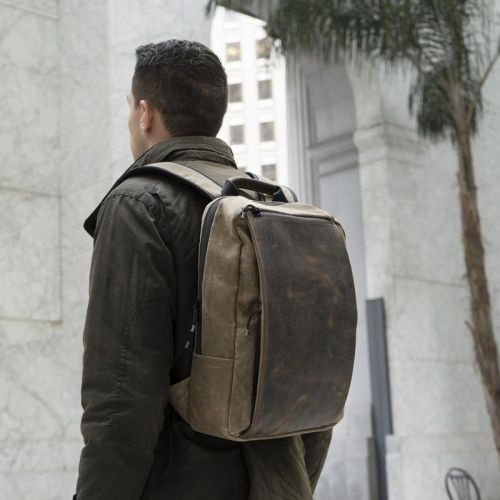 The new Sutter Slim Backpack was designed with tech professionals in mind