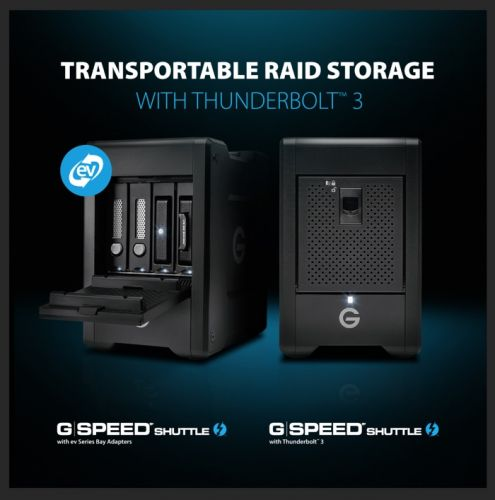 Western Digital Debuts New Transportable G-Technology G-SPEED Shuttles
