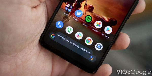 Android 12 DP3: Dark mode finally extends to toast messages w/ design tweak