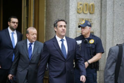 FBI recovered hundreds of encrypted messages from Michael Cohen's phone