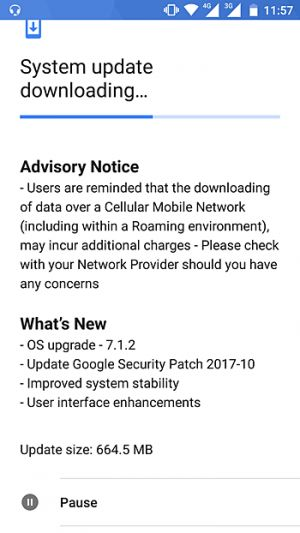 Nokia 6 Now Receiving Android 7.1.2, October Security Patch