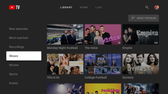 Google releases YouTube TV app for Apple TV and Roku