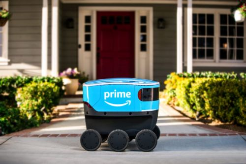 Amazon is testing Scout, a delivery robot, near Seattle