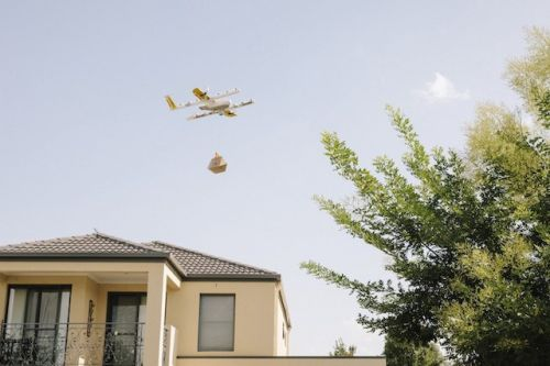 Drones Start Delivering Food And Coffee In Australia's Capital