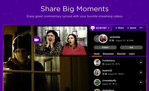 RealNetworks' Scener lets fans leave Twitch-like comments on Netflix, YouTube, and Hulu shows