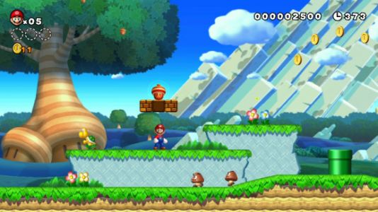 New Super Mario Bros. U Deluxe comes to Switch