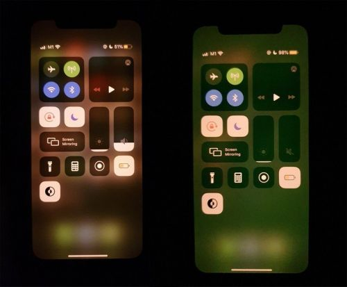 IPhone 11 users seeing weird green screen bug