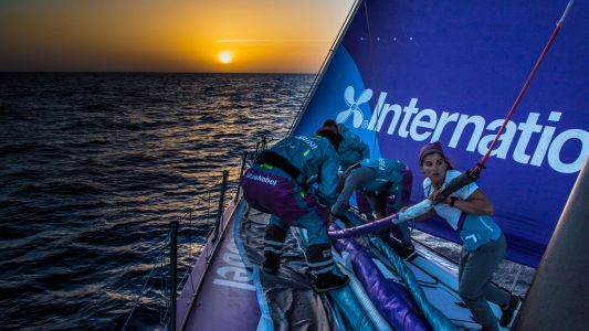 How biometric technology helps sailors go around the world in the Volvo Ocean Race
