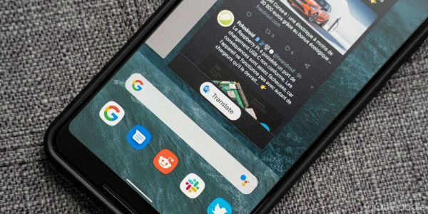 Android Q bringing Google Translate to Recents view in Pixel Launcher
