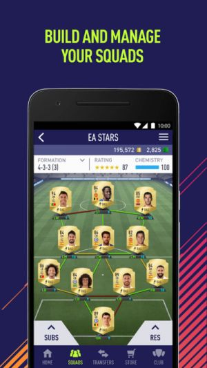 Take FIFA 18 on the Go with the Companion App