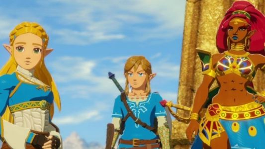 Slap Hyrule Warriors: Age of Calamity into your Switch for this great price