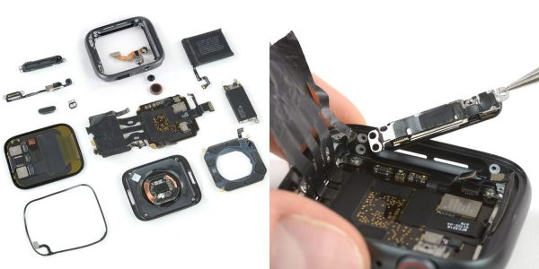 Apple Watch Series 4 teardown: major design leap, iPhone level repairability, more battery