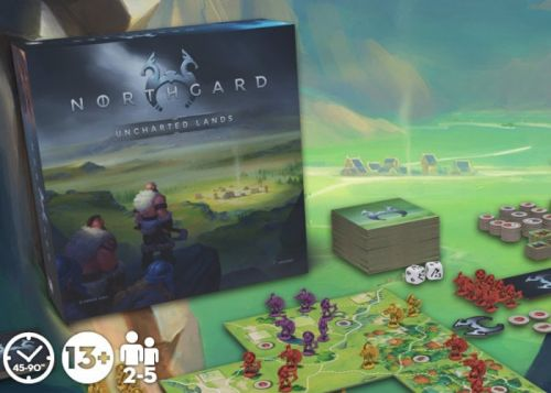 Northgard Uncharted Lands board game set in the age of Vikings