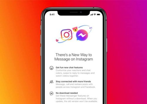 Facebook Adds Messenger Features To Instagram DM