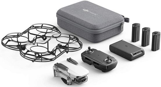 You can get a complete DJI drone bundle for just $449 for Cyber Monday