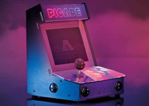 New Picade Raspberry Pi Desktop Arcade Cabinet 2018 Kit Now Available From £135
