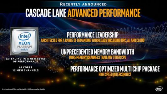 Intel Offers More Cascade Lake-AP Performance Numbers