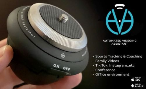 AVA Robot automated camera controller can be your personal camera assistant