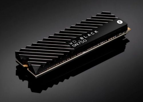 Western Digital Black SN750 NVMe SSD introduced