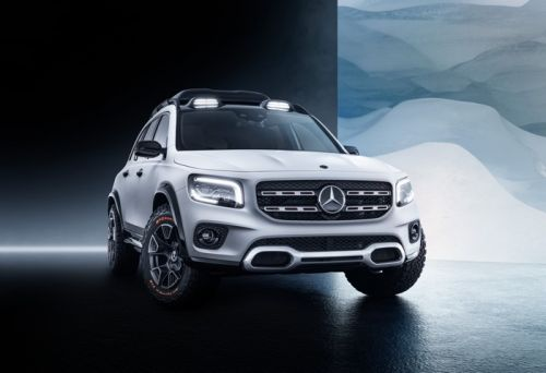 Mercedes Concept GLB shown off on video